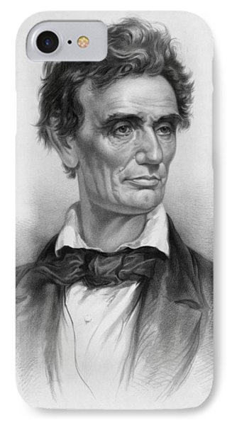 Abraham Lincoln iPhone 7 Case - Young Abe Lincoln by War Is Hell Store
