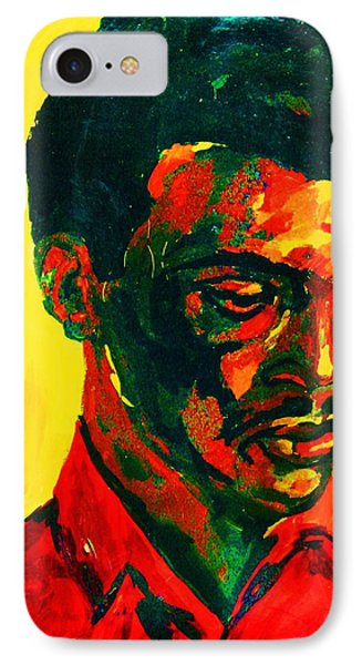 Young African Man Phone Case by Carole Spandau