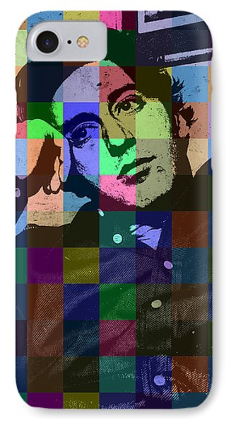 Young Al Pacino Actor Hollywood Pop Art Patchwork Portrait Pop Of Color IPhone Case