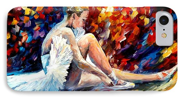 Young Ballerina Phone Case by Leonid Afremov