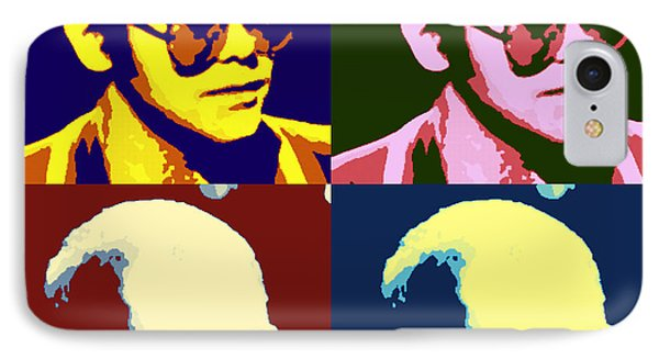 Young Elton John Pop Art Poster IPhone Case by Pd
