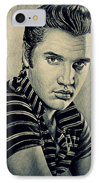 Young Elvis IPhone Case by Andrew Read