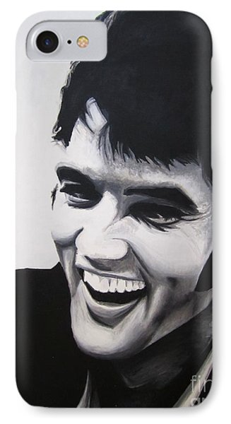Young Elvis Phone Case by Ashley Price