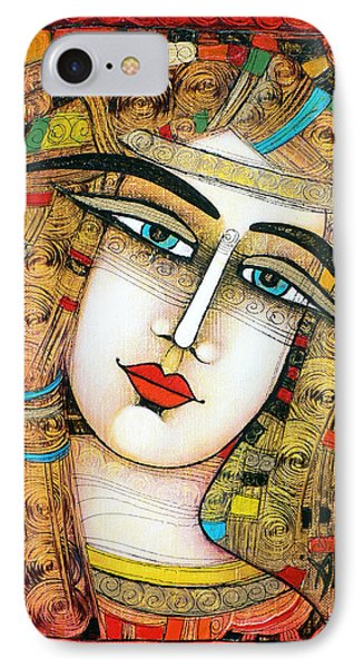 Young Girl Phone Case by Albena Vatcheva