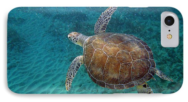 Young Green Turtle Phone Case by Kimberly Mohlenhoff