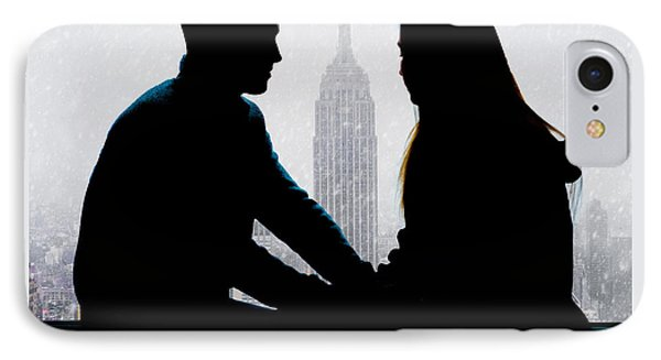 IPhone Case featuring the photograph Young Love     by Chris Lord