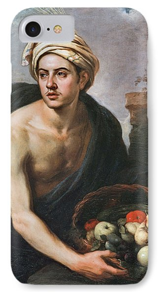 Young Man With A Basket IPhone Case