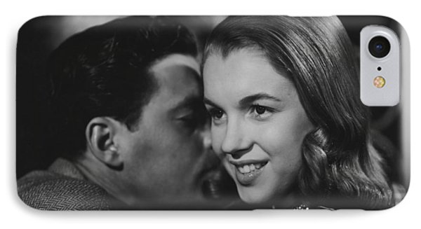IPhone Case featuring the photograph Young Marilyn Monroe by R Muirhead Art