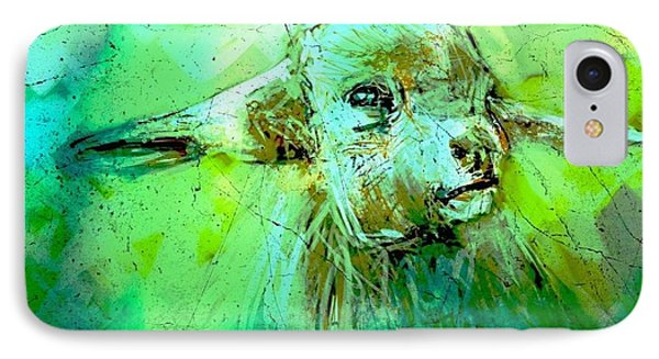 Young Sheep IPhone Case
