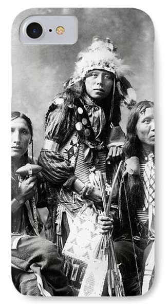 Young Sioux Men, 1899 Phone Case by Granger