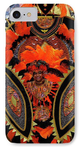 Young Tiger King Of The Band At The Junior Caribana Parade In To IPhone Case by Reimar Gaertner