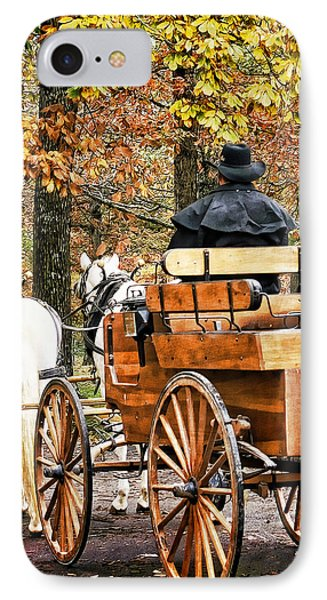 Your Carriage Awaits IPhone Case by TnBackroadsPhotos
