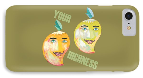 Your Highness B IPhone Case by Thecla Correya
