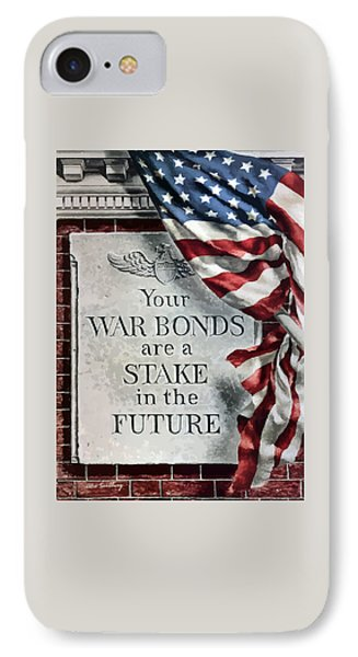 Your War Bonds Are A Stake In The Future IPhone Case