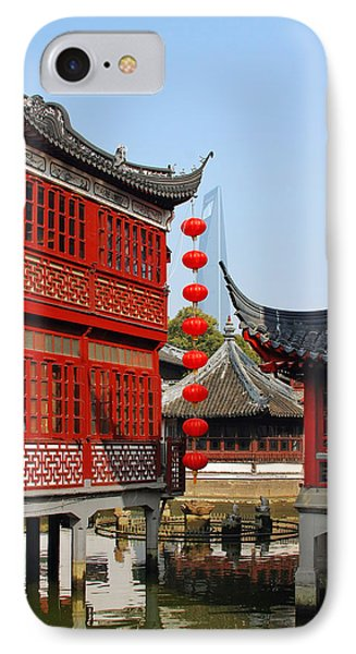 Yu Gardens - A Classic Chinese Garden In Shanghai Phone Case by Christine Till