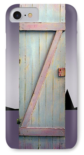 Z Door To New Frontiers IPhone Case by Asha Carolyn Young and Daniel Furon