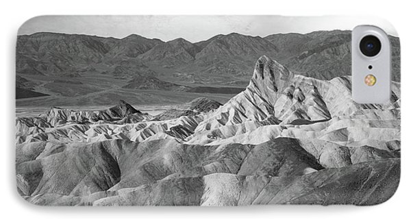 Zabriskie Point Landscape IPhone Case by Marius Sipa