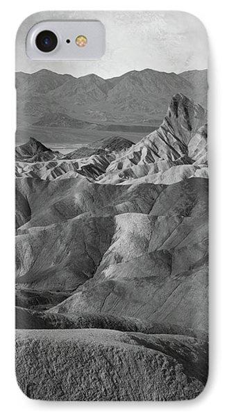 Zabriskie Point Portrait IPhone Case by Marius Sipa