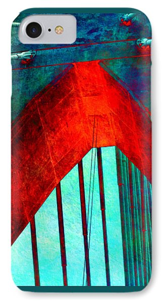Zakim Bridge Boston V5 IPhone Case by Brandi Fitzgerald