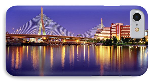 Zakim Twilight IPhone Case by Rick Berk