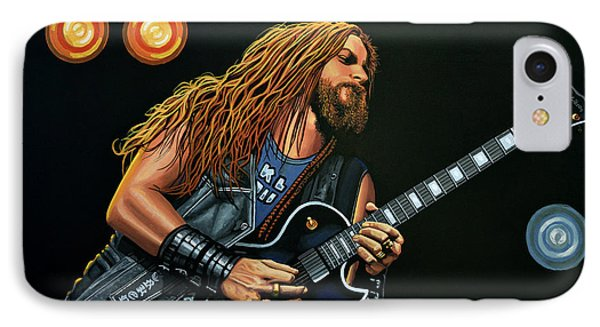 Dragon iPhone 7 Case - Zakk Wylde by Paul Meijering