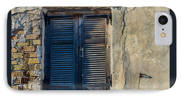Zakynthos Town Window IPhone Case