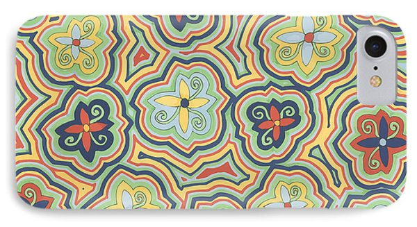 Zany Garden IPhone Case by Jill Lenzmeier