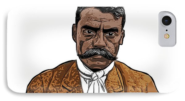 Zapata IPhone Case by Antonio Romero