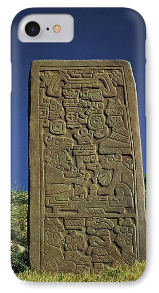 Zapotec History Phone Case by Juergen Weiss