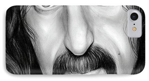 Zappa IPhone Case by Greg Joens