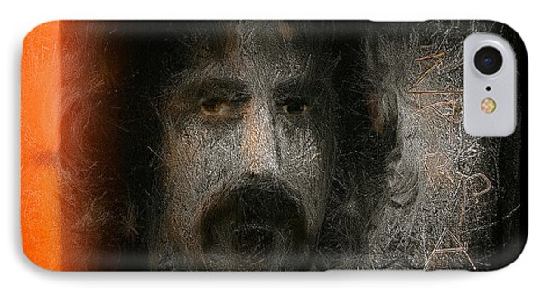 IPhone Case featuring the painting Zappa-the Deathless Horsie by Michael Cleere