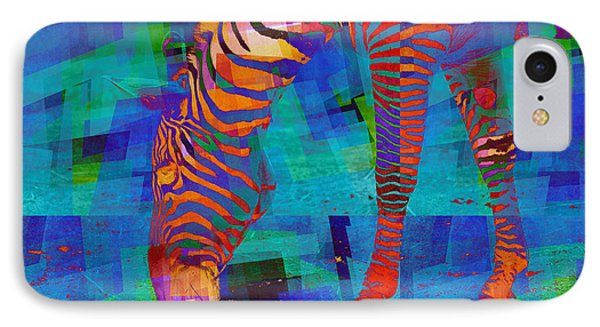 Zebra Art - 44 IPhone Case