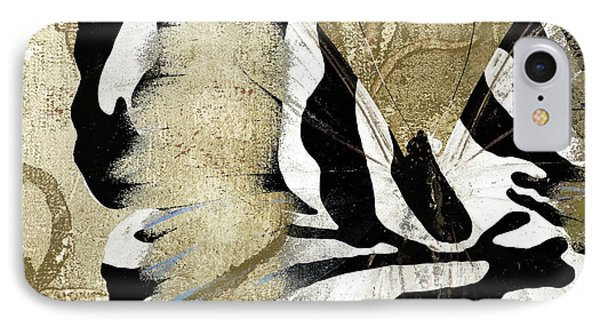 Zebra Butterfly IPhone Case by Mindy Sommers