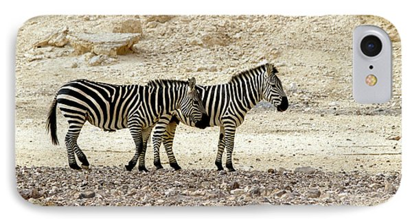 IPhone Case featuring the photograph Zebra Copy Paste by Arik Baltinester