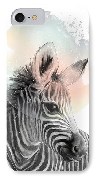 Zebra // Dreaming IPhone 7 Case by Amy Hamilton