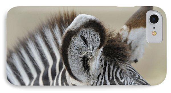 Zebra Ears IPhone 7 Case by David & Micha Sheldon
