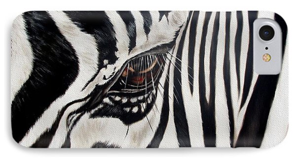 Zebra Eye IPhone 7 Case