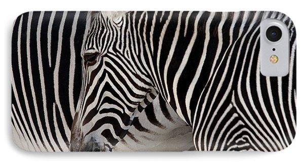 Zebra Head Phone Case by Carlos Caetano