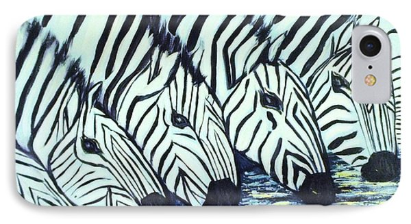Zebra Line IPhone Case