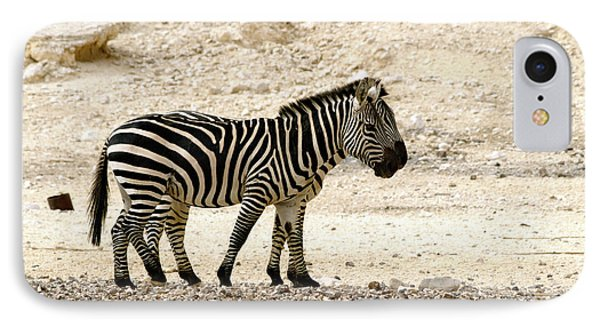 IPhone Case featuring the photograph Zebra Mix  02 by Arik Baltinester