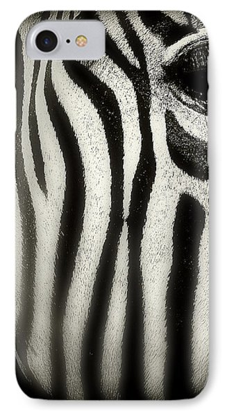 Zebra Phone Case by Perry Webster