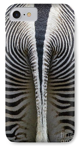 IPhone Case featuring the photograph Zebra Stripes by Heiko Koehrer-Wagner