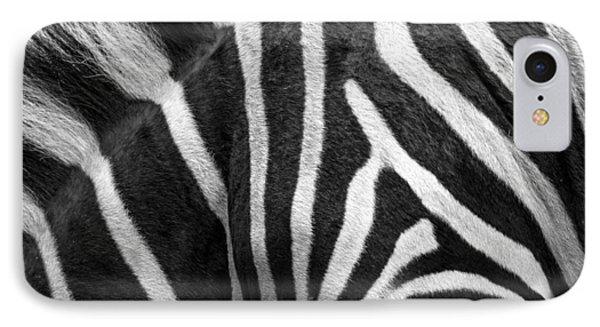 Zebra Stripes IPhone Case by Racheal  Christian
