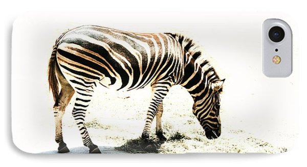 IPhone Case featuring the photograph Zebra Stripes by Stephen Mitchell