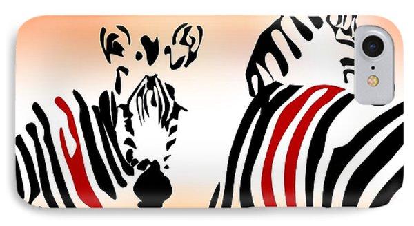 Zebra Theme IPhone Case