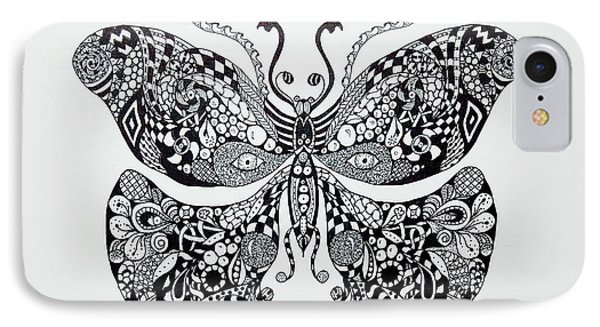 Zen Butterfly IPhone Case