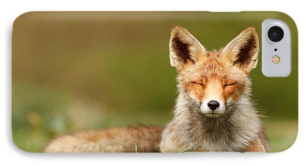 Zen Fox Series - Born To Be Happy IPhone Case