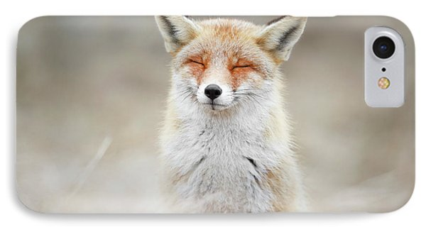 Zen Fox Series - What Does The Fox Think? IPhone Case