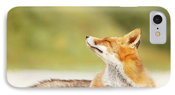 Zen Fox Series -zen Summer Fox IPhone Case by Roeselien Raimond
