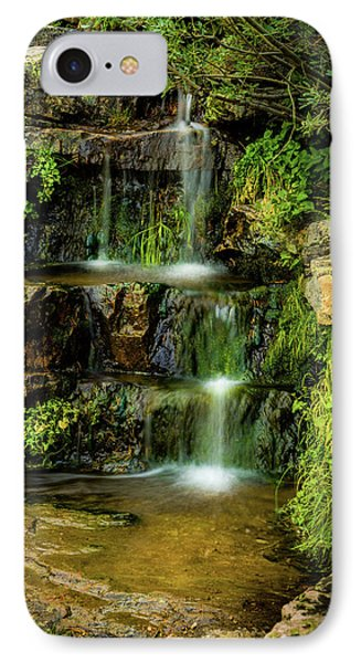 Zen Pools - Provo River Falls IPhone Case by TL Mair